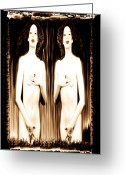 Most Favorite Photo Greeting Cards - Sisters of Silence Greeting Card by Fine Art  Photography