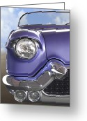 Street Rod Greeting Cards - Sitting Pretty Greeting Card by Mike McGlothlen