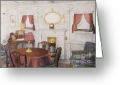 Parlor Greeting Cards - Sitting Room In Titanic Greeting Card by Photo Researchers