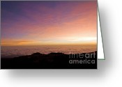 East Africa Greeting Cards - Siunrise Kilimanjaro Greeting Card by Scott Hansen