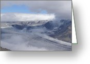 Rudi Prott Greeting Cards - Skaftafell Panorama Greeting Card by Rudi Prott