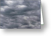 Darken Greeting Cards - Sky Before Rain Greeting Card by Michal Boubin