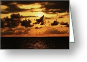 Oceano Greeting Cards - Sky Dream Greeting Card by Sebastian Acevedo