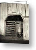 Historical Site Greeting Cards - Sleeping In Greeting Card by Patrick M Lynch