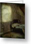 Edmonton Photographer Prints Greeting Cards - Sleepless Prayers  Greeting Card by Jerry Cordeiro