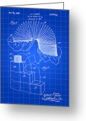Patent Greeting Cards - Slinky Patent Greeting Card by Stephen Younts