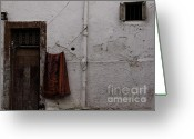 Rabat Greeting Cards - Small door Greeting Card by Daniel Berube