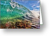 Surf Art Greeting Cards - Small Wonder Greeting Card by Paul Topp