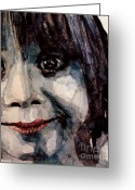Smile Greeting Cards - Smile Greeting Card by Paul Lovering