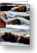 Wild Rivers Greeting Cards - Smoke On The Water Greeting Card by Steven Milner