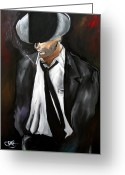 Figurative Greeting Cards - Smooth by Thomas Fedro Greeting Card by Tom Fedro - Fidostudio