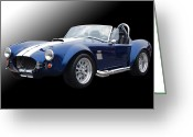 Carroll Shelby Photo Greeting Cards - Snakebit Greeting Card by Bill Dutting