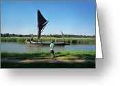 Maltings Greeting Cards - Snape Maltings Greeting Card by Charles Stuart