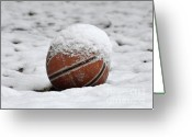 Al Powell Photography Greeting Cards - Snow Ball Greeting Card by Al Powell Photography USA