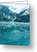Crevice Greeting Cards - Snow Cones Greeting Card by Peter Olsen