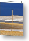 Prairie Landscape Greeting Cards - Snow in the Hills Saskatchewan Greeting Card by Mark Duffy