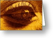 Copyright Protected. Greeting Cards - So Can Eye Greeting Card by Barbara St Jean