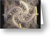 Pure Digital Art Greeting Cards - So Elegant Greeting Card by Julie  Grace