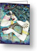 Soft Painting Greeting Cards - So Many Memories Greeting Card by Albena Vatcheva