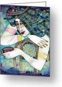 Albena Greeting Cards - So Many Memories... Greeting Card by Albena