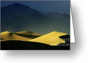 Mountains Of Sand Greeting Cards - So Quiet Greeting Card by Bob Christopher