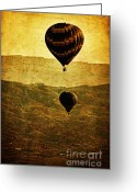 Aerial View Greeting Cards - Soaring Heights Greeting Card by Andrew Paranavitana