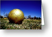 Soccer Greeting Cards - Soccer Season Starts Greeting Card by Scout J Photography