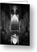 Door Greeting Cards - Soft Asylum Greeting Card by Bob Orsillo