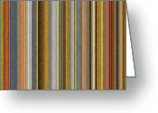 Stripe.paint Greeting Cards - Soft Stripes ll Greeting Card by Michelle Calkins