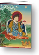 Thanka Greeting Cards - Sogpo Lhapal Greeting Card by Sergey Noskov