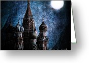 Night Time Greeting Cards - Solace Greeting Card by Andrew Paranavitana