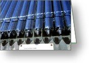 For Collectors Greeting Cards - Solar Heat Collector Greeting Card by Martin Bond