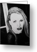 U2 Photo Greeting Cards - SOLD Portraiture work. Greeting Card by Liam O Conaire