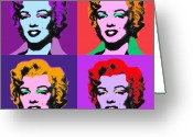 Marylin Greeting Cards - Some Like It Cool Greeting Card by Charles Stuart