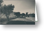 Rural Landscapes Greeting Cards - Somethin About You and I Greeting Card by Laurie Search