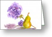 Flower Still Life Prints Greeting Cards - Sometimes Love Hurts Greeting Card by Paula Ayers
