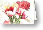 Beautiful Flowers Greeting Cards - Somewhere In Spring Greeting Card by Kathy Bucari