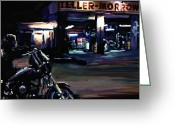 Jax Teller Greeting Cards - Sons of Anarchy Jax Teller Signed Prints available at laartwork.com Coupon Code KODAK Greeting Card by Leon Jimenez