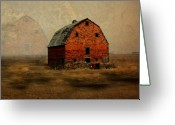 Rural Decay  Digital Art Greeting Cards - Soon to be Forgotten Greeting Card by Julie Hamilton
