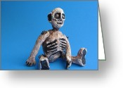 Ooak Photo Greeting Cards - Souls Of The Damned Greeting Card by Catherine Carr