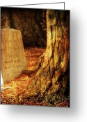 Cemetery Greeting Cards - Souls Strength Greeting Card by Leah Moore