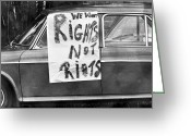 Civil Rights Greeting Cards - South Africa: Riots, 1976 Greeting Card by Granger