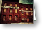 Picoftheday Greeting Cards - South Street Seaport. #nyc Greeting Card by Luke Kingma