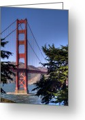Marin Greeting Cards - South Tower Greeting Card by Bill Gallagher