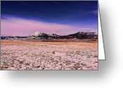 Colorado Framed Prints Greeting Cards - Southern Colorado Mountains Greeting Card by Ron Roberts