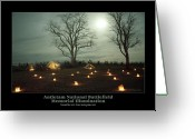 Antietam Greeting Cards - Southern Encampment 90 Greeting Card by Judi Quelland