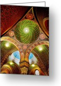 Star Of David Greeting Cards - Spanish Synagogue Greeting Card by John Galbo