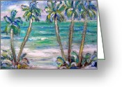 Patricia Taylor Greeting Cards - Sparkling Beach Delight Greeting Card by Patricia Taylor
