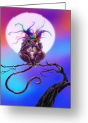 Wacom Tablet Greeting Cards - Speak No Evil Greeting Card by Kd Neeley