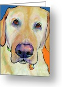 Reproductions Greeting Cards - Spenser Greeting Card by Pat Saunders-White            